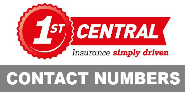 1st Central contact number details