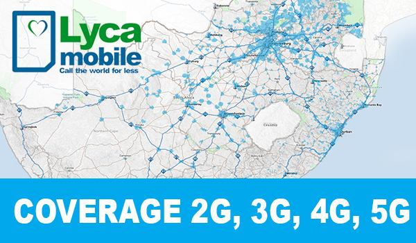 lycamobile Coverage
