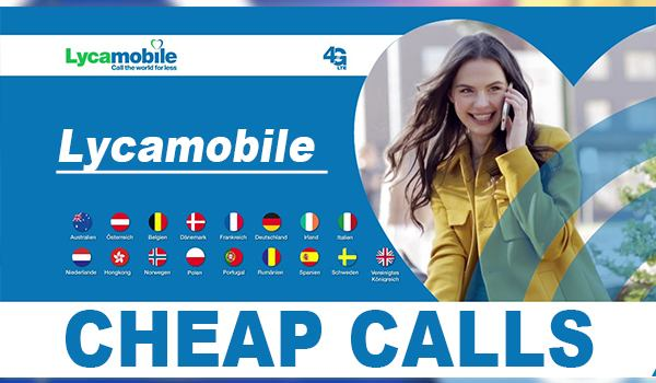 Lycamobile Cheap Calls