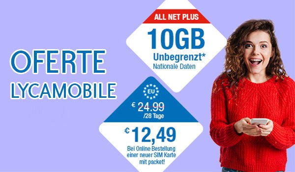 Oferte Lycamobile UK