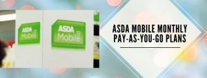 ASDA Mobile PAYG Plans for UK users