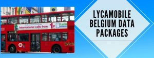 Lycamobile Belgium data plans for users