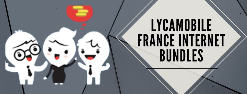 Lycamobile internet plans for french users