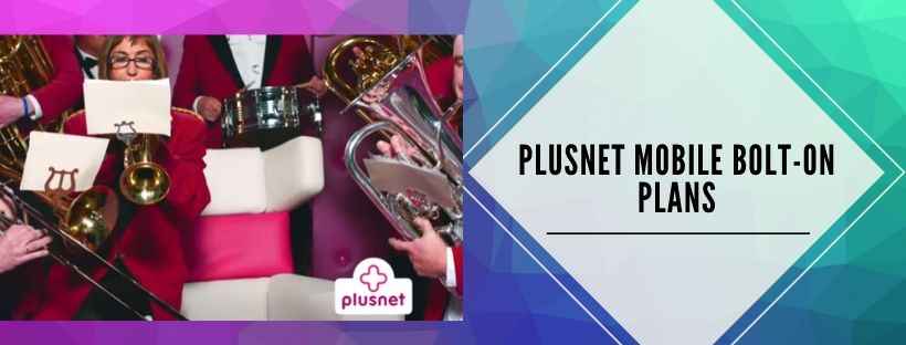 Plusnet Mobile add-on packages